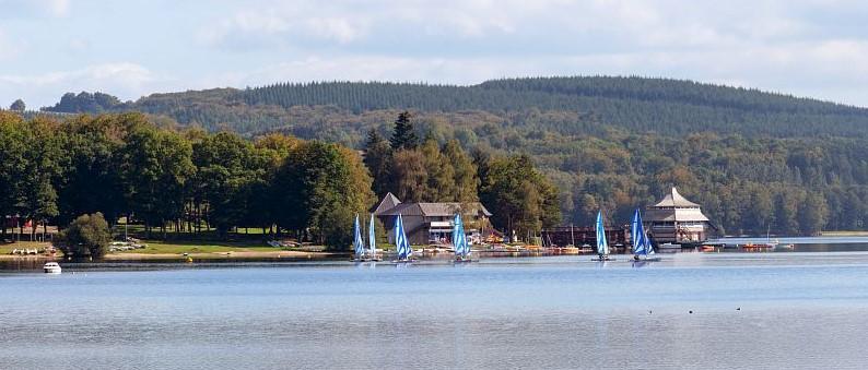 lac des settons-morvan - alain doire - crt bourgogne franche comté