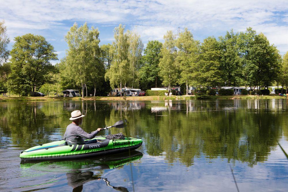 canoe lac vosges