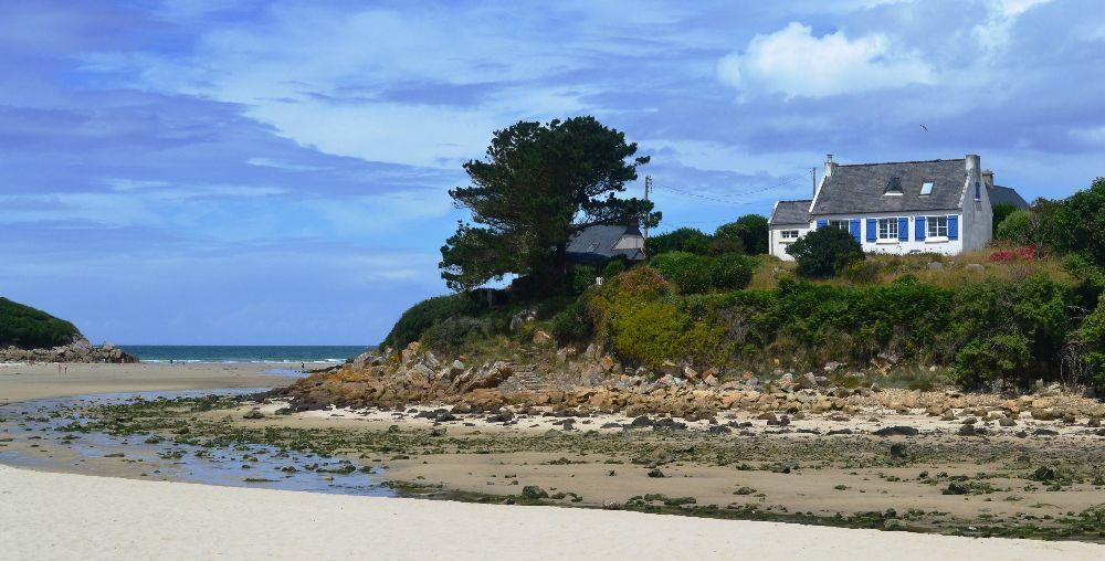 Maison plage bretagne